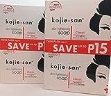 Bleaching-Soap von Kojie San Skin Lightening Kojic Säure Seife 2 Bars – 65 Gramm) von Kojie San...