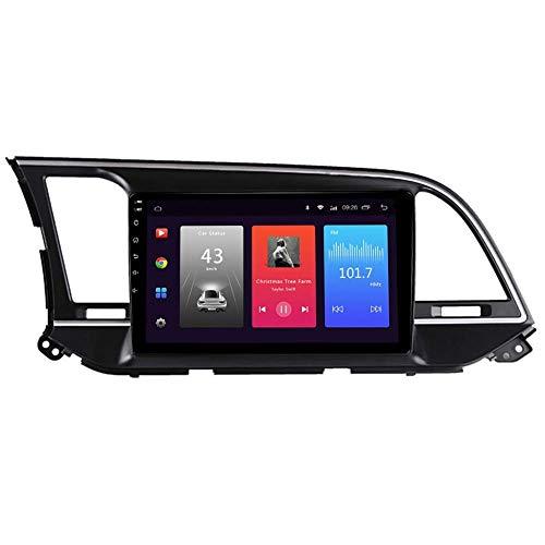 JALAL Navegación GPS, Android Car Stereo Sat Nav para Hyundai Elantra 2015-2018 Sistema de Unidad Principal SWC 4G WiFi BT USB Mirror Link Carplay Integrado