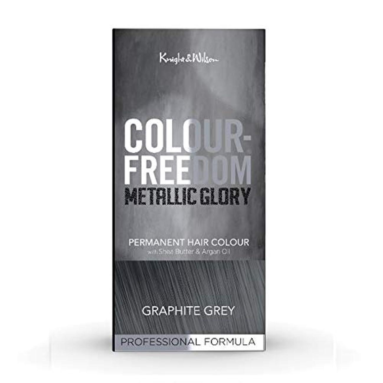 細心のヒープカフェテリア[Colour Freedom ] 色自由金属栄光グラファイトグレー617 - Colour Freedom Metallic Glory Graphite Grey 617 [並行輸入品]