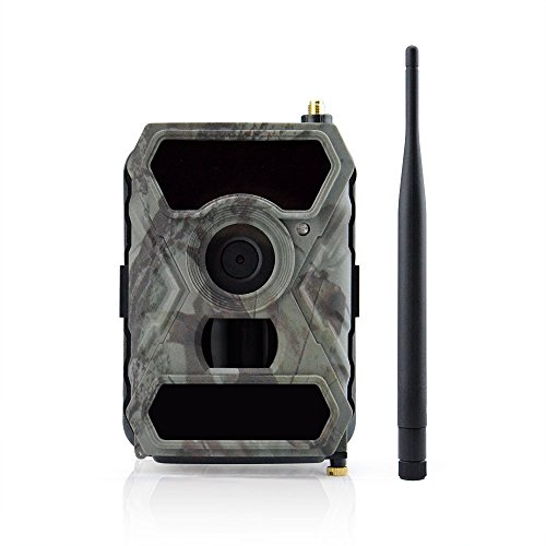 Uboway 3G Wireless Trail Camera 12MP T-Mobile AT&T 1080p HD with Night Vision for Hunting & Monitoring