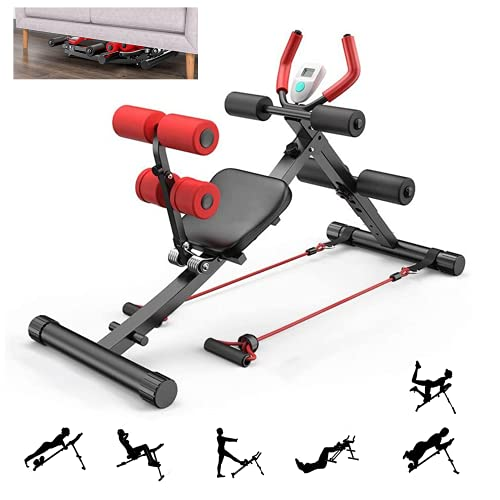 ab Machine, ab Workout Equipment for Home Gym, Height...