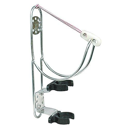 Supporto Staffa in Acciaio Inox per Salvagente Anulare con Porta Boetta