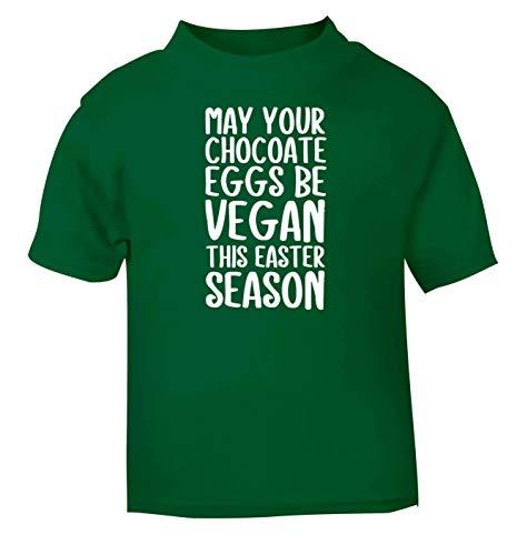 Flox Creative T-Shirt pour bébé Motif œufs au Chocolat - Vert - 1-2 Ans