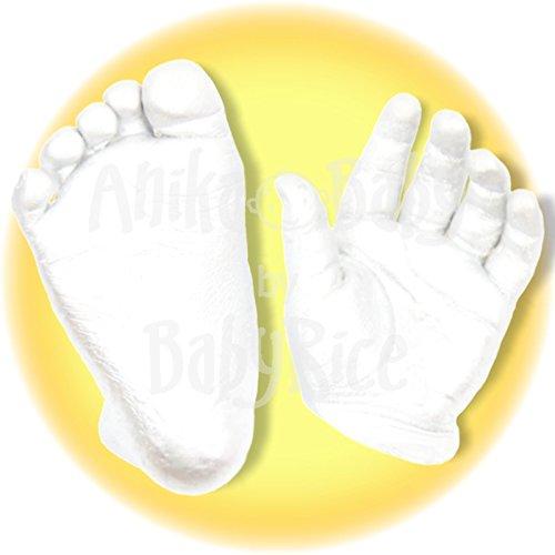 Baby BabyRice Guss Materialien easy Starter Kit Chromatisches Alginat Stein Pflaster je 500g plus Anleitung