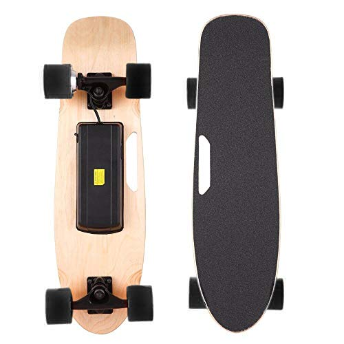 "Dr. Ferrari GmbH E-Skateboard ""Action"", Elektro-Board, Skateboard elektrisch mit Motor, E- Longboard, Elektroantrieb, Fernbedienung"