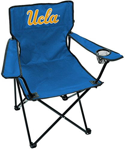 Rawlings NCAA Gameday Elite Lightweight Folding Tailgating Chair, with Carrying Case, UCLA Bruins