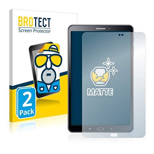 BROTECT Protector Pantalla Anti-Reflejos Compatible con Samsung Galaxy Tab A 10.1 2016 (2 Unidades) Pelicula Mate Anti-Huellas