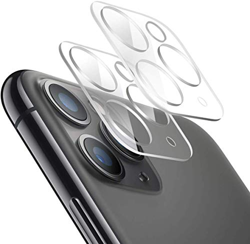 [2Pack] Camera Lens Protector for iPhone 11 Pro/iPhone 11 Pro Max Tempered Glass, Anti-Scratch Ultra Transparency 9H Hardness