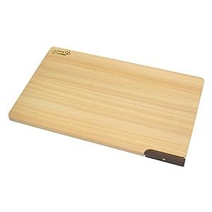 ダイワ産業 まな板 (大) 木製 ひのき 食洗機対応 軽量 【スタンド付き】 日本製 防カビ 撥水加工 39cm