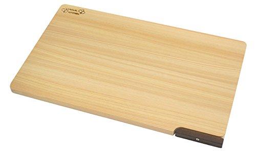 Lavastoviglie corrispondente tagliere hinoki con supporto] [39 centimetri (japan import)