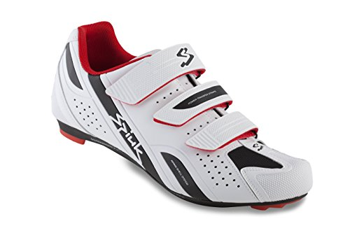 Spiuk Rodda Road - Zapatillas Unisex, Color Rojo/Blanco, Talla 37