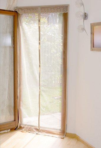 Infactory - NC8848 - Moustiquaire pour porte avec fermeture magnétique