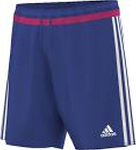 adidas Pantaloncini da Uomo Campeon 15, Uomo, Shorts Campeon 15, Bold Blue/Bold Pink/White, M
