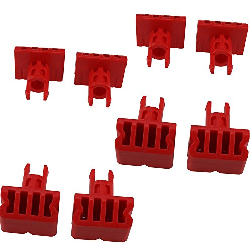 Schraubstock für Black & Decker Workmate WM300 WM535 WM536, hochwertig, stabil, 8 Stück