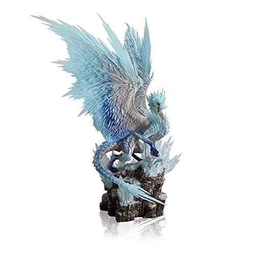 Monster Hunter World Iceborne DLC PVC Modelle Velkhana Hot Dragon CFB Actionfigur Dekoration Spielzeug Monster Sammlung Geschenke, Dbingzhoulong