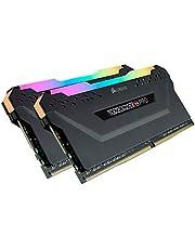 CORSAIR DDR4-3600MHz デスクトップPC用 メモリ VENGEANCE RGB PRO シリーズ 32GB [16GB×2枚] CMW32GX4M2Z3600C18