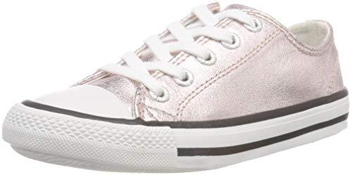 Lico Gloss Low Mädchen Sneaker, Rosegold, 33 EU