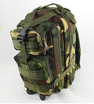 Best to Buy Multipurpose Tactical BackPack Upgraded Large Camping Hiking Shoulder Pack 25L (Dark Green)