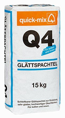 Glättspachtel Q4 quick-mix 15kg