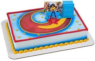 DC Super Hero Girls Move Over Boys Cake Topper Decoration Set