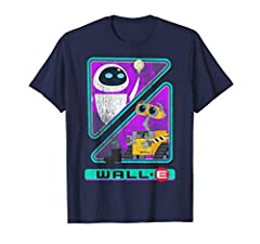 Officially Licensed Disney Wall-E T-Shirt 16PXWE005WE Lightweight, Classic fit, Double-needle sleeve and bottom hem