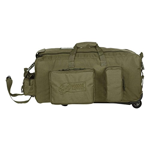 VooDoo Tactical 15-9687004000 Mini Mojo Load-Out Bag On Wheels, OD