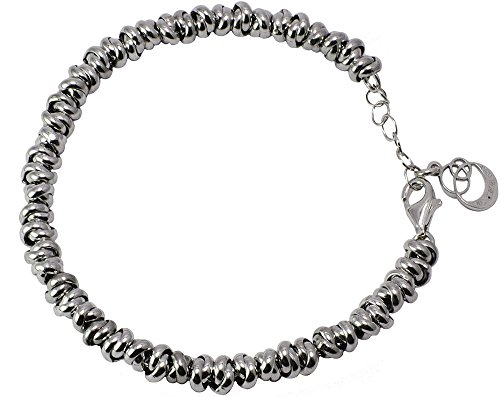 My Silver Bracciale Cloto Medium Argento Sterling 925 Colore Rodio