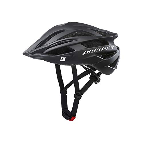 Cratoni Agravic MTB Helm Black Matte Kopfumfang S/M | 54-58cm 2020 Fahrradhelm