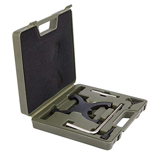 Cuque 5 Stücke Motor Nockenwelle Spannen Verriegelung Ausrichtung Zahnriemen Tool Kit Zahnriemen Spezial Steuerkette Wechseln für Focus C-Max Mondeo MY 1,6 2,0 Ti-VCT 16 V HXDA HXJA PNBA RHBA