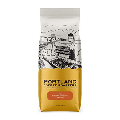 Steel Espresso Blend from Portland Coffee Roasters - 32 oz - WHOLE BEAN
