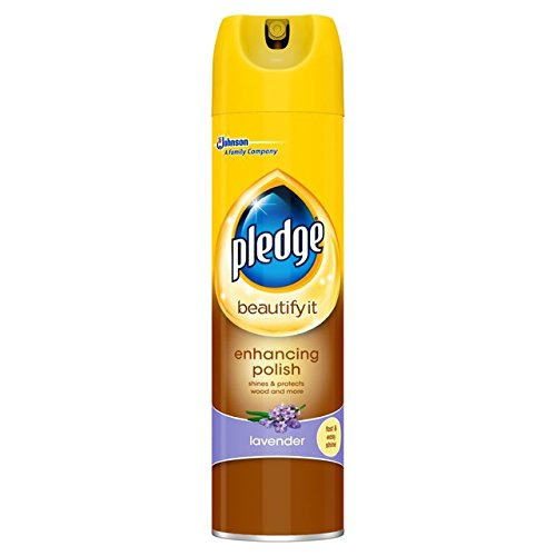 Pledge Spray 250ml Pack (2, Furniture Cleaner Lavender)