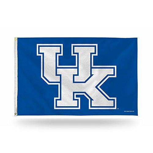NCAA Rico Industries 3-Foot by 5-Foot Single Sided Banner Flag with Grommets, Kentucky Wildcats