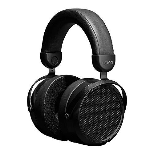 HIFIMAN HE400i versione 2020 Cuffie sovraurali planari magnetiche professionali con fascia migliorata, connettore da 3,5 mm, per audiofili, ottima qualità del suono, stereo, colore nero