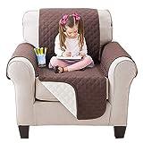 ML Funda Cubre de sofá 1 plazas, 170cm Frontal, Cubre Sofa Reversible 2...