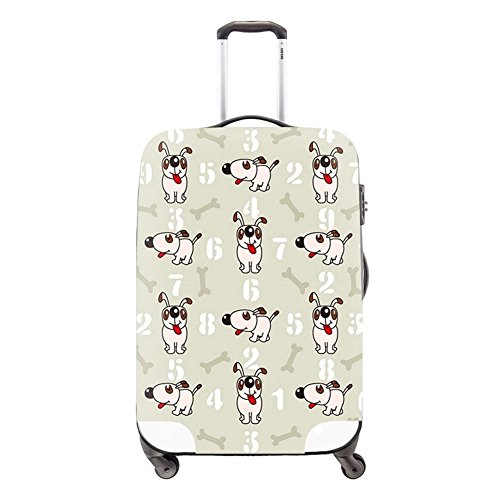 Creativebags Washable Mens Womens Travel Suitcase Luggage Bags Protector Cover Fits 18-30 Inch