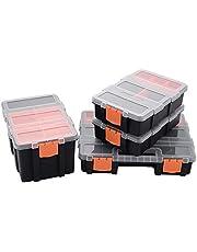 工具箱 ツールボックス 収納ボックス 小物収納ケース 釣り 収納 小物 ネジなど 雑貨入れ パーツケース【4個セット】