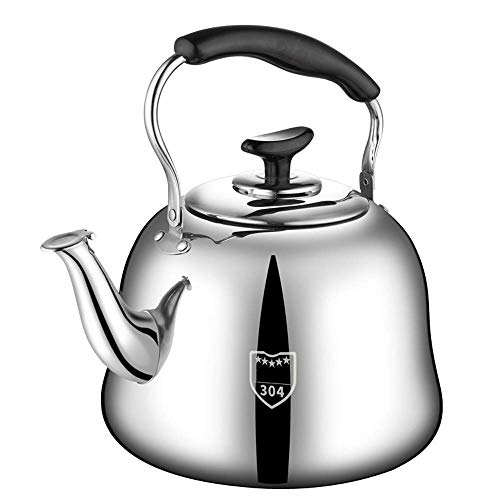FACAIA Teapot,Tea Pots for Stove Top|Tea Kettle|Whistling Tea Kettle|Stainless Steel Tea Kettle | Large Capacity | Suitable for Various Stoves