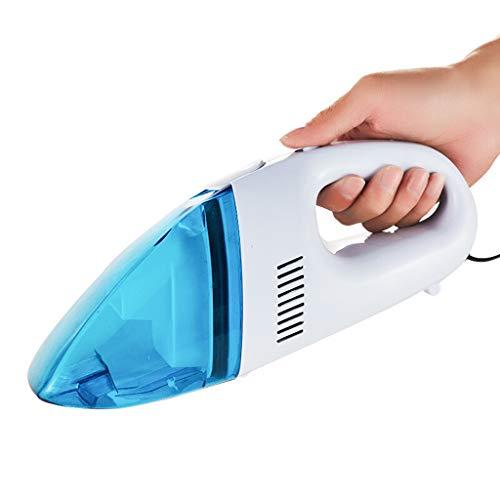 Aspirateur de Voiture avec Mini Petit Ordinateur de Poche Portable Grande Aspiration 12V Haute Puissance Humide et Sec Bleu