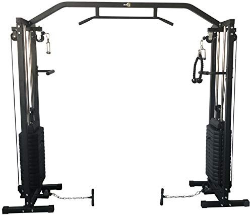 RIP X 180kg Cable Crossover Machine With Pull Up Bar and Improved Top and Bottom Swivel Pulley Design