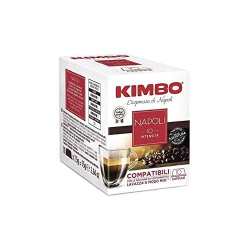 160 Capsule Caffe Kimbo Compatibili Lavazza a Modo Mio Miscela Napoli box da 10 Capsule