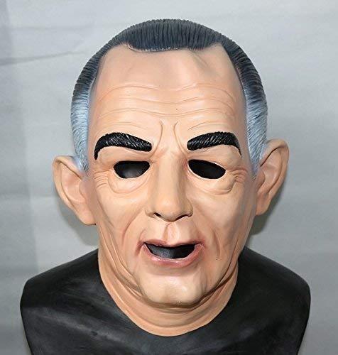 The Rubber Plantation TM 619219292665 Lyndon B Johnson LBJ Ex Président en latex Masque de déguisement américain, accessoire de déguisement de film, unisexe, adulte, taille unique