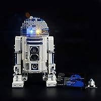LIGHTAILING Conjunto de Luces (Star Wars R2-D2) Modelo de Construcción de Bloques - Kit de luz LED Compatible con Lego 10225 (NO Incluido en el Modelo)