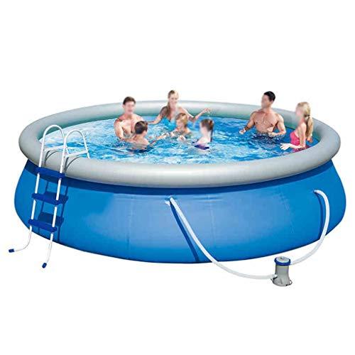 I will take action now DREI Schichten Dicken Aufblasbaren Schwimmbad Zu Hause Erwachsene Kinder Verdickung Familie Kinder Baby Erwachsene Outdoor Planschbecken (Durchmesser: 3,05 M * 76 cm)