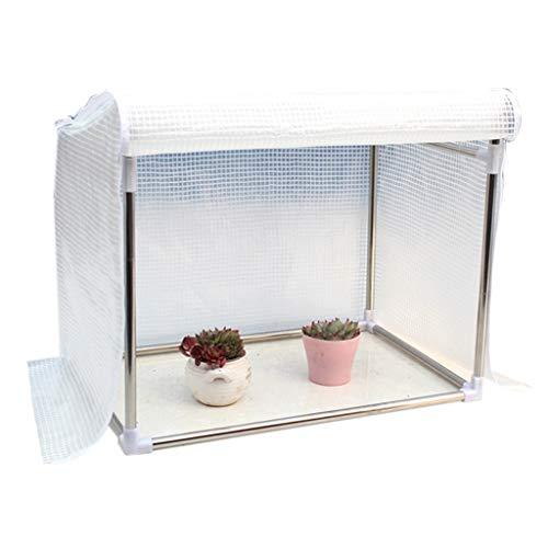 Serres de Jardin Tunnel Petite à Plantes - Jardin Portable en Plastique Plantes Chaudes pour la Maison Green House Green Garden Outdoor Outdoor Tomate (Taille : 90×50×60cm)