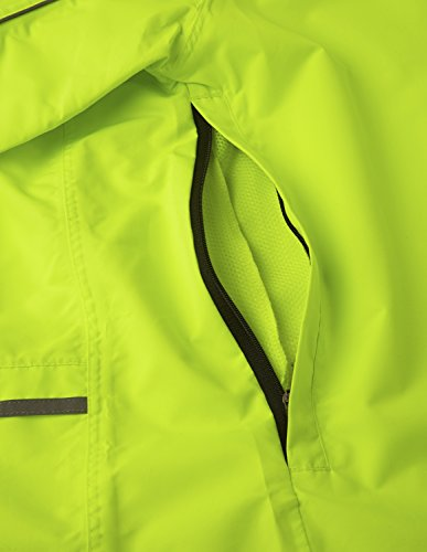41T+9JJEl7L - Ettore Ladies Cycling Jacket Waterproof Breathable High Visibility Yellow - Night Eagle