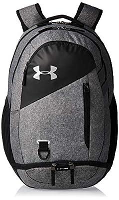 Under Armour Adult Hustle 4.0 Backpack , Black (002)/Black , One Size