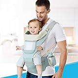 Portabebés Taburete de cintura Caminantes para recién nacidos Malla de...