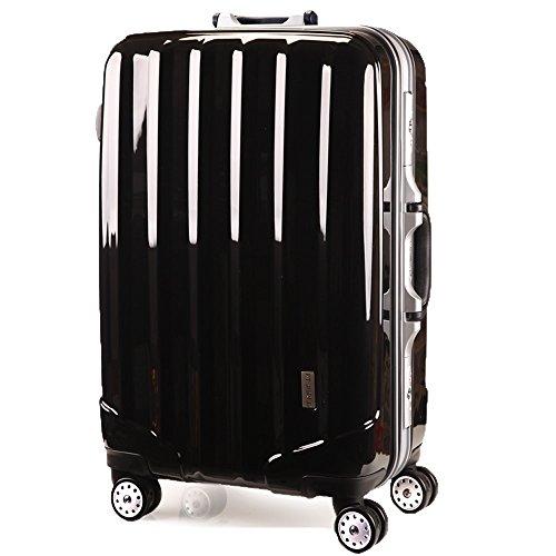 スーツケースTSAロック搭載 4輪 ダブルキャスター フレーム開閉式 KT523ACX 先上げ品 軽量 旅行カバン キャリーケース 旅行用品 国内海外 修学旅行 海外留学 ビジネスバック キャリーバック S M L 小型 中型 大型 (S 小型, ブライト