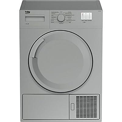 Beko DTGC7000S 7kg Freestanding Condenser Tumble Dryer - Silver