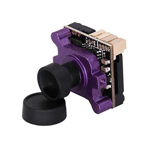 Colcolo Fotocamera FPV Ad Definizione con Obiettivo per Scheda di Regolazione OSD da 2,1 Mm - Viola